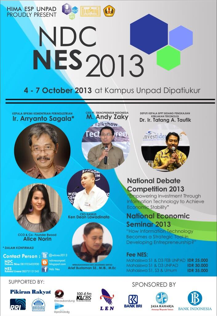 National Economic Seminar 2013
