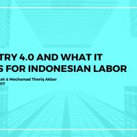 INDUSTRY 4.0: Apa Artinya Bagi Tenaga Kerja Indonesia?