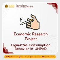 """ECONOMIC RESEARCH PROJECT: """"Dampak Penerimaan Uang Saku Mahasiswa UNPAD Terhadap Perilaku Mengonsumsi Rokok Konvensional"""""""