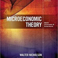[E-Book] Microeconomic Theory; Basic Principle & Extensions by Walter Nicholson and Christopher Snyder